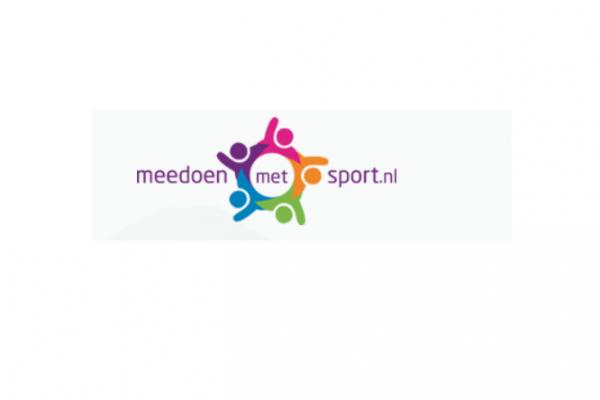 Afbeelding logo Meedoen met sport 1