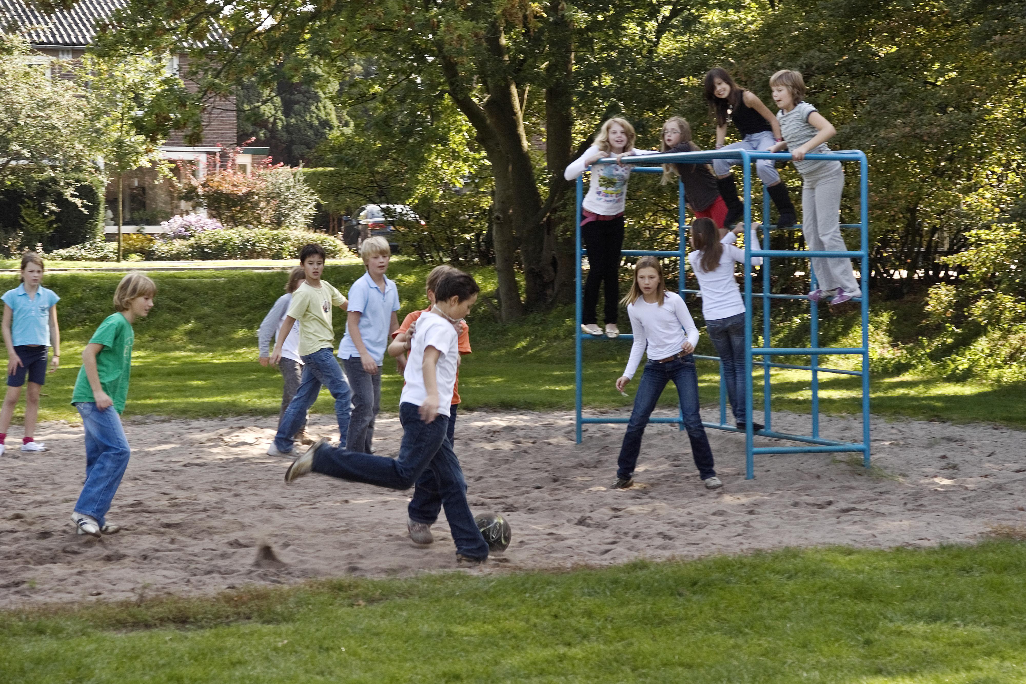 Bewegen in veilige schoolzones