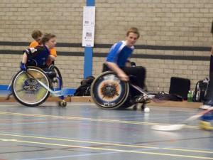 Fit in een rolstoel