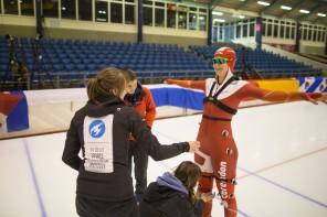 Op weg naar de ideale schaatsslag