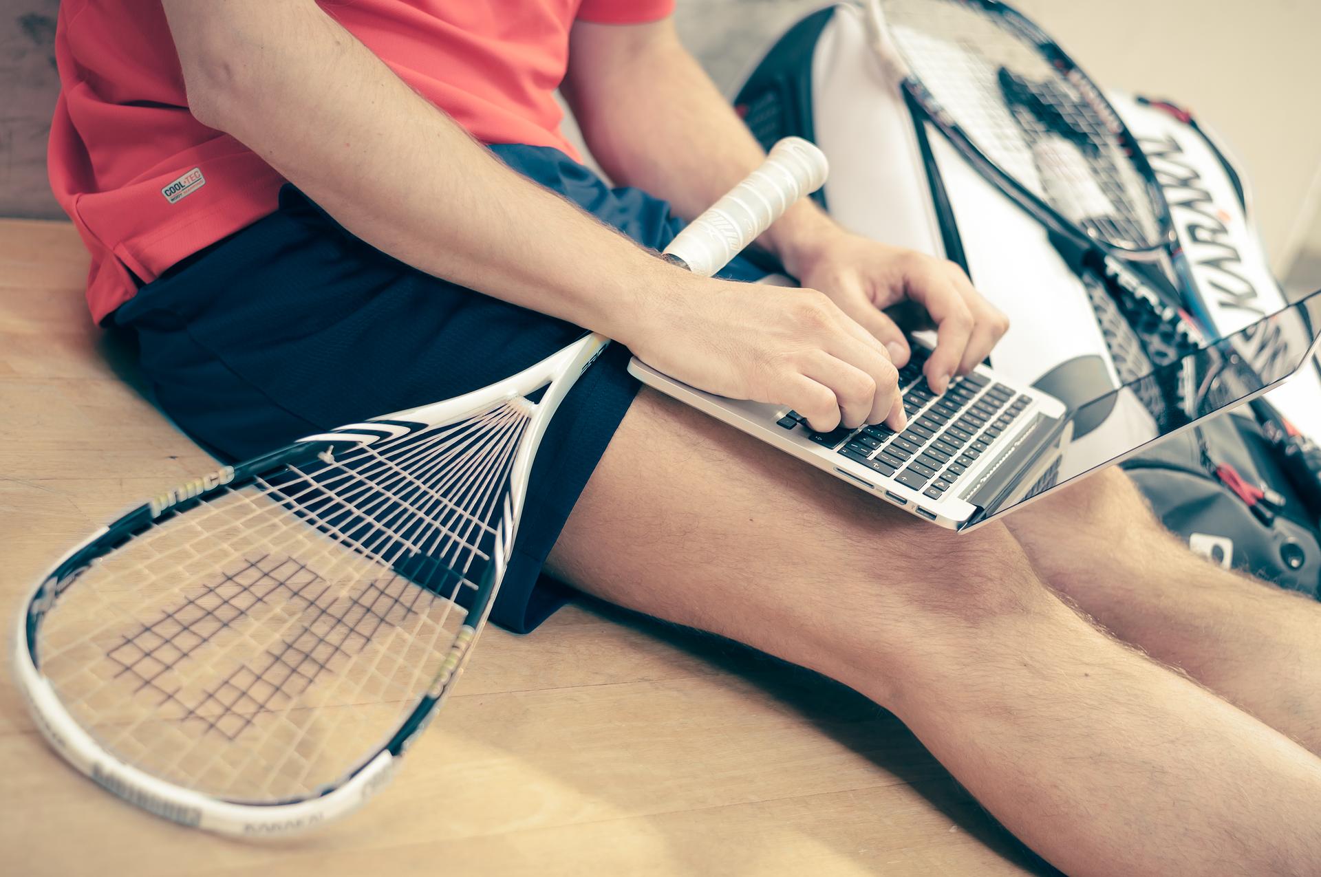 Tennis en online blessureprogramma