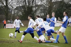 Voetbalwedstrijd tussen TSC en SCO. Foto: Joyce van Belkom/Hollandse Hoogte