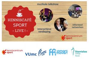 SMART MOVES! organiseert kenniscafé Sport Live! 'Bewegen en leren'