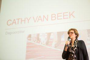 Cathy van Beek ontvangt Koninklijke onderscheiding
