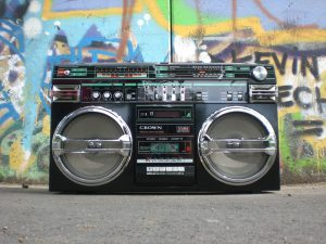 Radio ghettoblaster