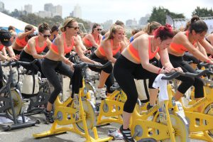 Team spinning dames