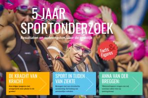 5 jaar sportonderzoek: het digitale magazine