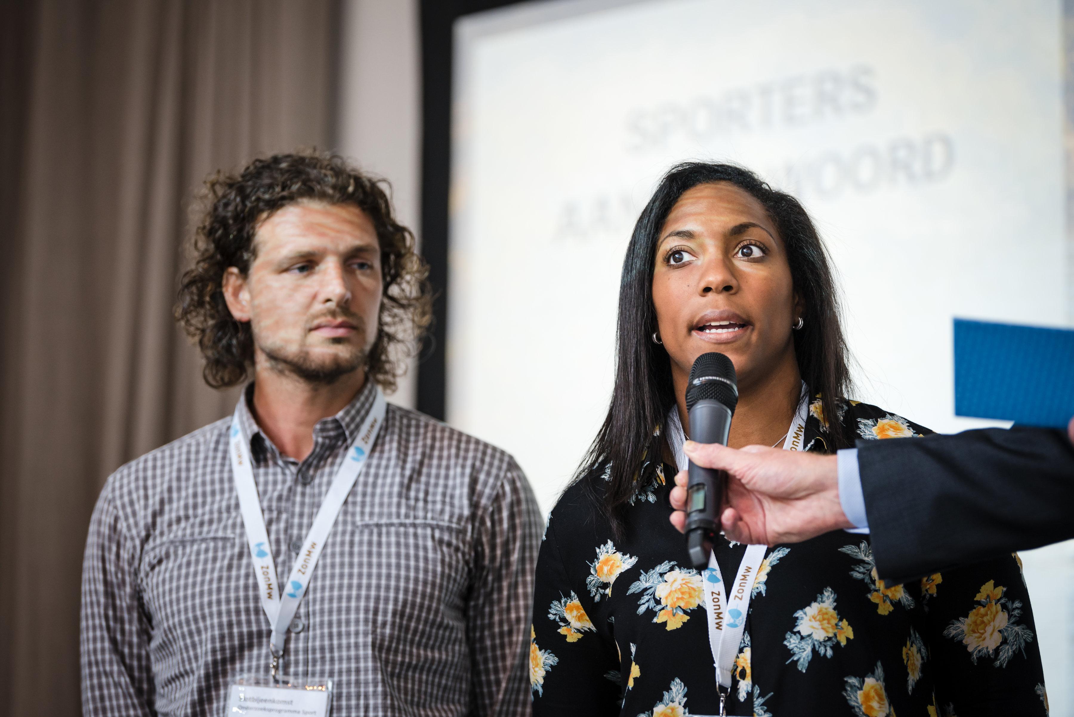 Sander Ganzevles en Anicka van Emden