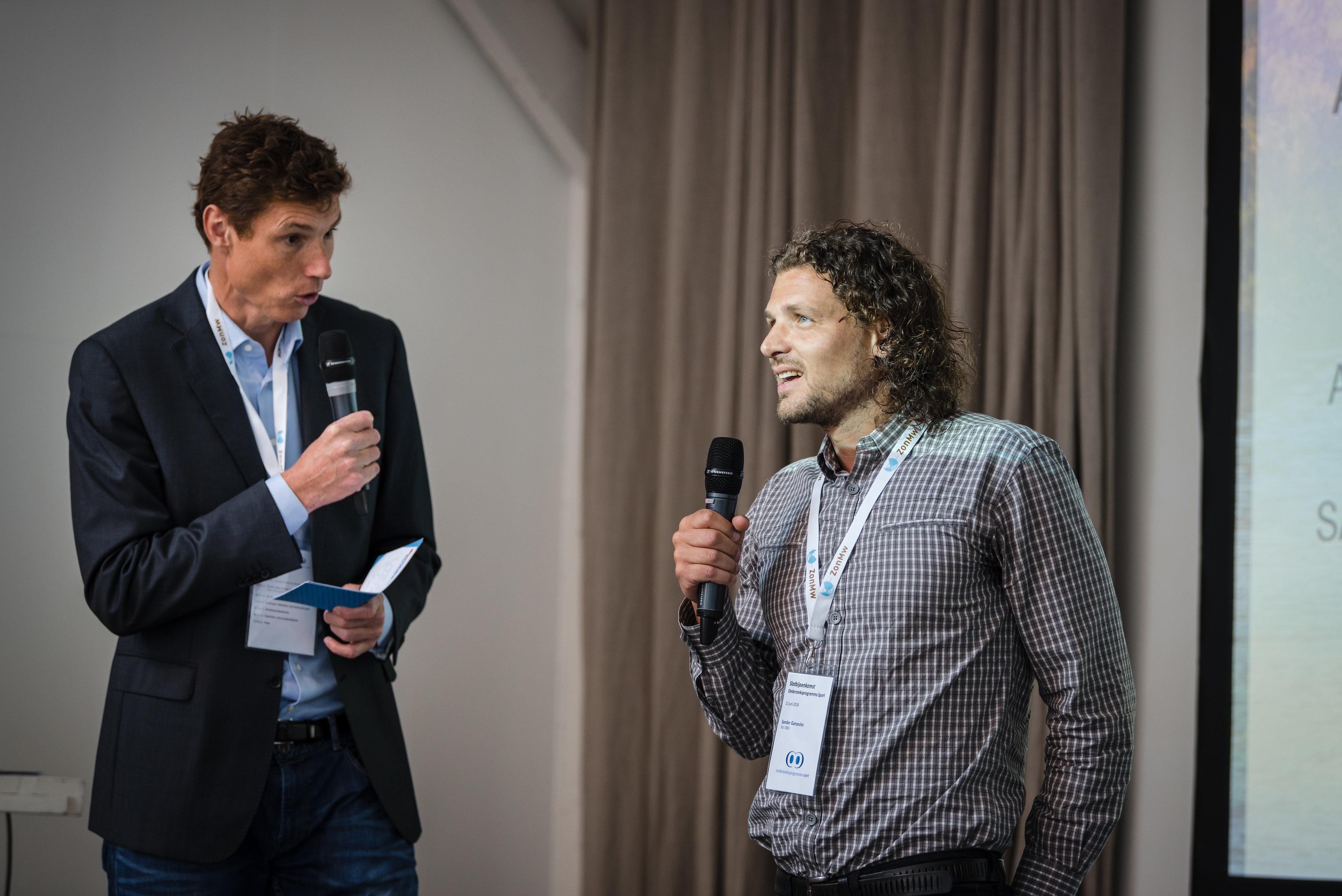 Bas van de Goor en Sander Ganzevles